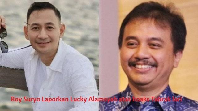 Roy Suryo Laporkan Lucky Alamsyah atas hoaks Tabrak lari